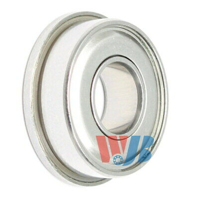 Stainless Steel Miniature Ball Bearing WJB SF698-ZZ Flanged
