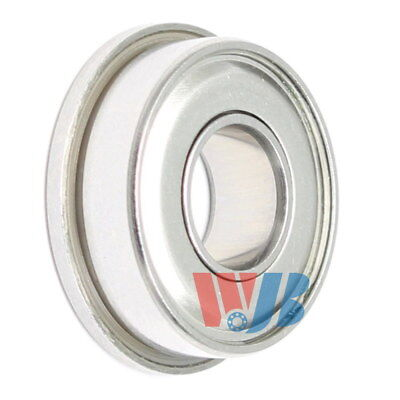 Stainless Steel Miniature Ball Bearing WJB SFR144-ZZEE Flanged