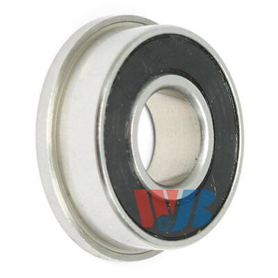 Stainless Steel Miniature Ball Bearing WJB SFR4-2RS Flanged