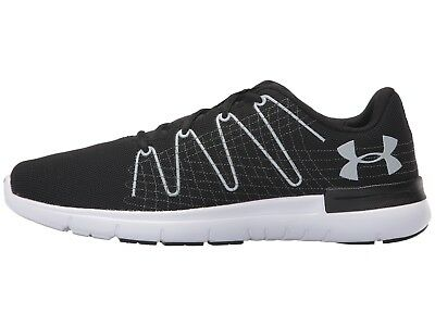 big sale 03a0b 6a347 Under Armour Mens Thrill 3 Running Shoe 1295736-001 Black White