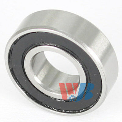 Stainless Steel Miniature Ball Bearing WJB SR2-2RS with 2 Rubber Seals
