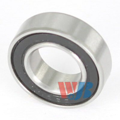 Stainless Steel Miniature Ball Bearing WJB SR4-2RS with 2 Rubber Seals