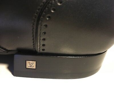 MENS BRAND NEW LOUIS VUITTON SHOES IN BLACK RRP £650 - No Reserve!!