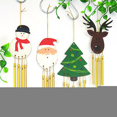 Fashion DIY Paint Your Own Wooden Wind Chime Wood Windchime Kids Decoration FF