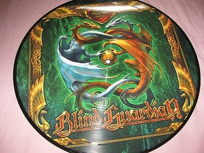 BLIND GUARDIAN-AND THEN THERE WAS SILENCE RARE 12'' PICTURE DISC VINYL metallica