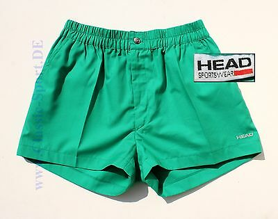 T-321) orig. 90er HEAD / Portugal Tennis-Shorts He:46=SM NEU !