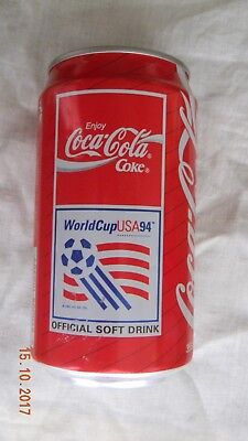 Coca cola can Hong Kong production for 1994 world cup USA