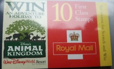10 first class stamps . MNH