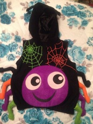 Halloween Costume Children Babies Age 18-24 Months Spider Costume