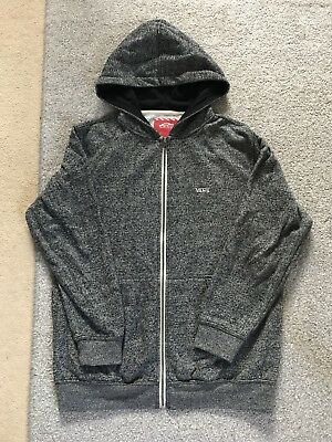 VANS Grey Marl Hoodie Size XL Boys/girls Approx Age 12-15 Good Condition