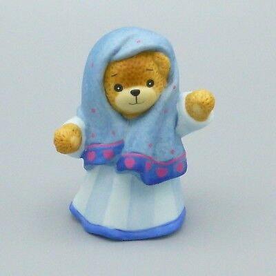 Enesco Lucy & Me Christmas Nativity Mary Figurine Bear Lucy Rigg