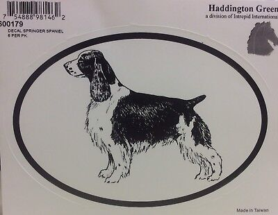 New! Haddington Green English Springer Spaniel Decal