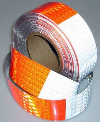 Vehicle CONSPICUITY Reflective Tape - DOT approved -for Trucks, Trailers, Safety