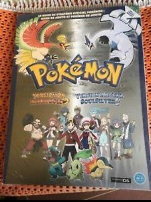 Guide officiel pokemon or/argent ds neuf encore sous blister