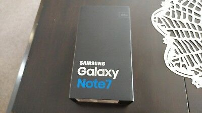 Samsung Galaxy Note 7 Box Only *NO PHONE*
