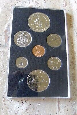 1975 Canada Silver Dollar Seven-Coin Set - Proof-Like