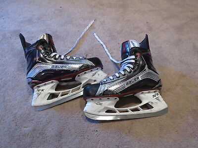 Used Bauer Vapor 1X Pro Stock Ice Hockey Skates Size 7.5 D/A Flyers