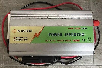 Nikkai DC To AC Power Inverter 1000w with soft start 300W