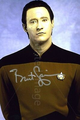 Brent Spiner From Star Trek Signed Autographed Photo