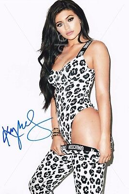 Kylie Jenner Signed Autographed Photo