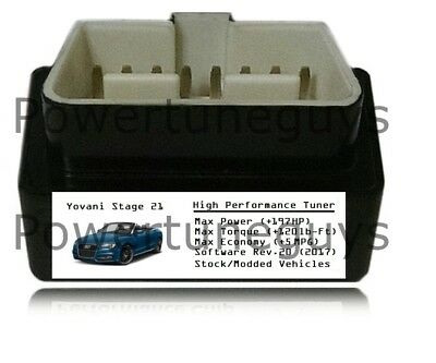 Stage 21 Tuner Chip Power Performance +197HP 5MPG ECU Tune for Chevy Chevrolet