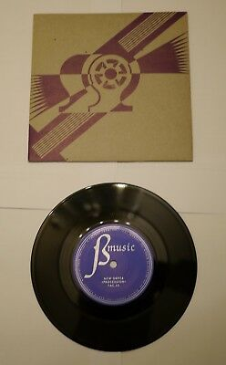 "New Order- Everythings Gone green/procession 7""1981 FAC 53 Rare Purple Cover Ex"