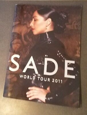 SADE 2011 World Tour BOOK Concert PROGRAM pics