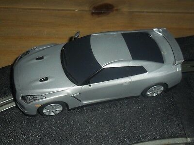 Scalextric rare Need for speed Nissan GT-R 360 degree spin drift car Superb