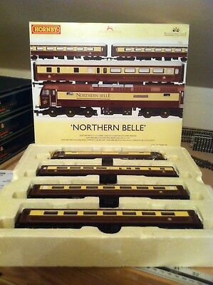 Hornby The Northern Belle Train Pack With DCC Sound Fitted