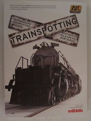 Trainspotting Modelling Techniques Book by AK Interactive