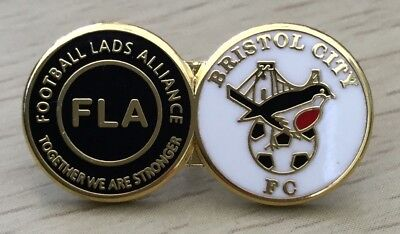 Bristol City Football Lads Alliance Official Enamel Pin Badge, Together Stronger