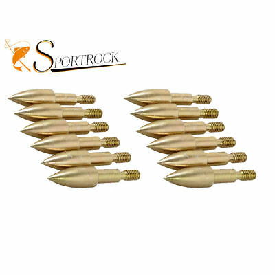 12x Target Tips ArrowHeads Boardheads For Compound Recurve Archery Hunting 100gr