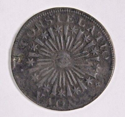 1785 Constelatio Large Colonial Cent! Blunt Rays Nova! Old US Coinage!