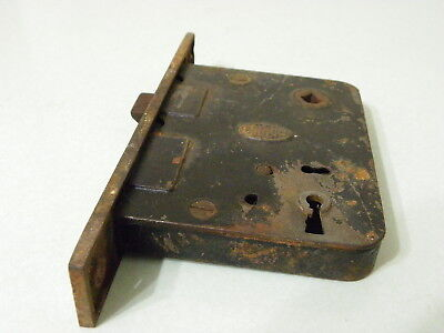 Antique Corbin Mortise Lock Set  No Key