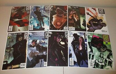 Catwoman #44-54 VF/NM (Lot of 10, Missing #51) Adam Hughes Covers 45 46 47 48 50