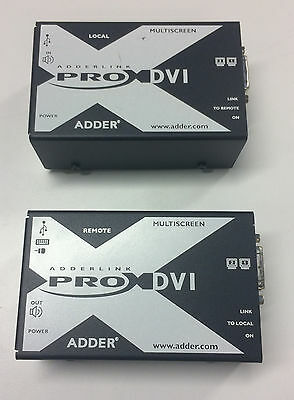 AdderLink X-DVI PRO MS Multiscreen DVI USB KVM Extender Kit