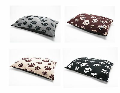 LARGE & Extra Large  Fleece Dog Bed -Pet Washable Zipped Mattress Cushion