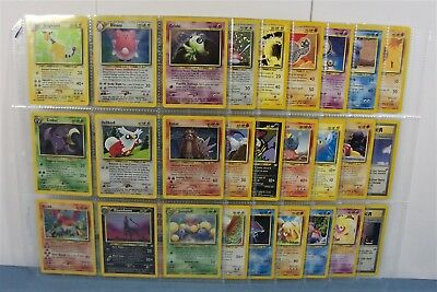Complete Neo Revelation 64/64 Pokemon Card Set~No Shining Cards..mostly Nm/mint