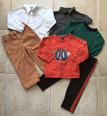 Lot of Boys Clothes size 3T Fall Winter Cute Nice Outfits Free Shipping