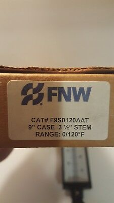 "FNW F9SO120 AAT 9"" Case 3-1/2"" stem. Range 0/120F"