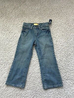 NWT Toddler/Baby Boys OLD NAVY Boot-Cut Jeans, Size 4T Medium Wash,