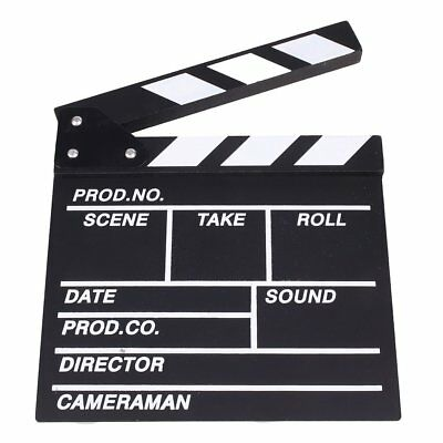 TVshow Action Wooden Movie Directors Clapboard Theater Party Decoration