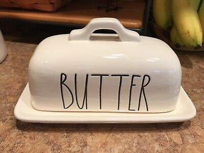 """Brand New !! Rae Dunn By Magenta """"butter"""" Dish"""