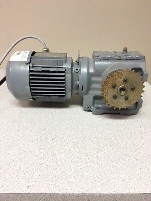 SEW Euro drive Foot Mounted Helical-worm Gear motor #140130033