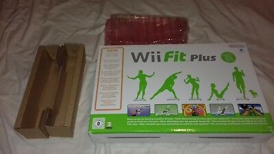 Wii Fit Plus Balance Board Original Box Replacement (Box and Packaging Only)