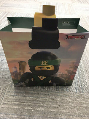 Lego Ninjago Movie - 2017 World Premier Goodie Bag Swag - Only Given To Children