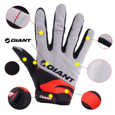 GUANTI CICLISMO LUNGHI IN GEL GIANT GLOVES BIKE in 8 MODELLI