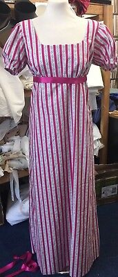 Regency Inspired 'Regency Stripe' Gown