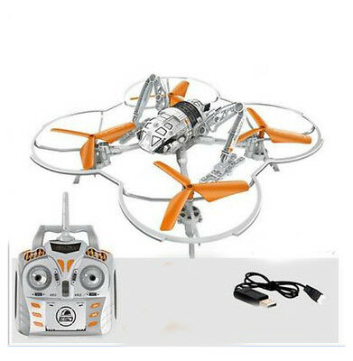 New Length 28CM 2.4G Remote Control Four Axis Aircraft Model Electronic Toys #