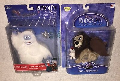 Abominable Snow Monster & King Moonracer Rudolph's Island of Misfit Toys NEW!